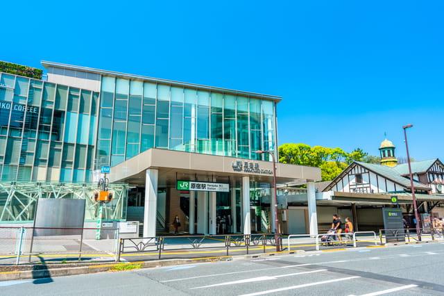新 原宿 駅舎 駅
