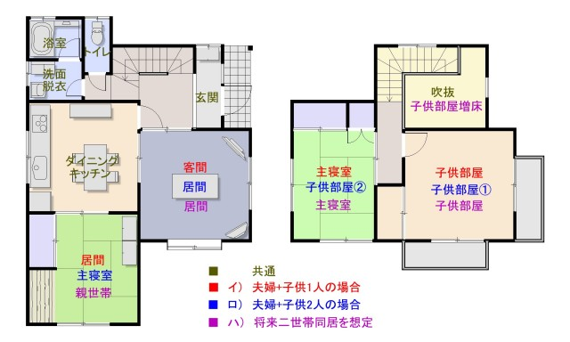 (送)07クレヨンしんちゃん-間取り図-分譲開始時