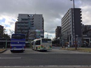 尼崎駅の街並み